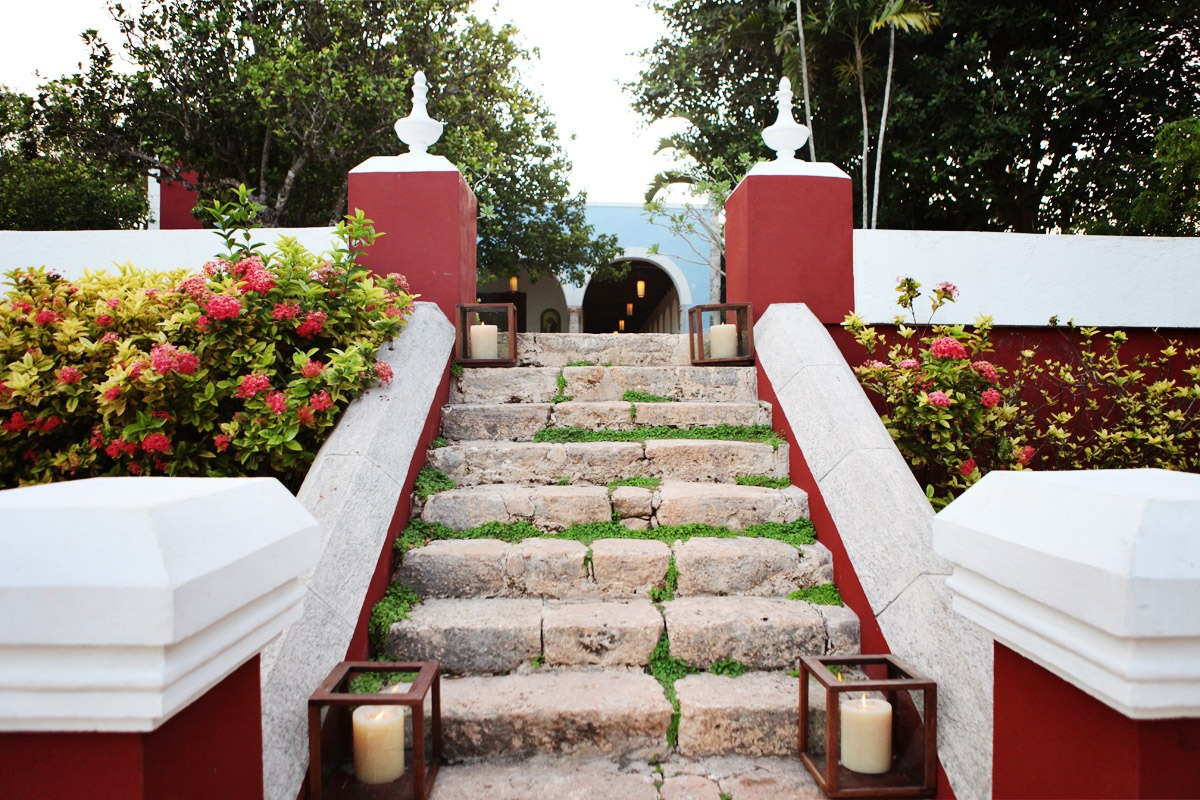 Stairway near the Main House