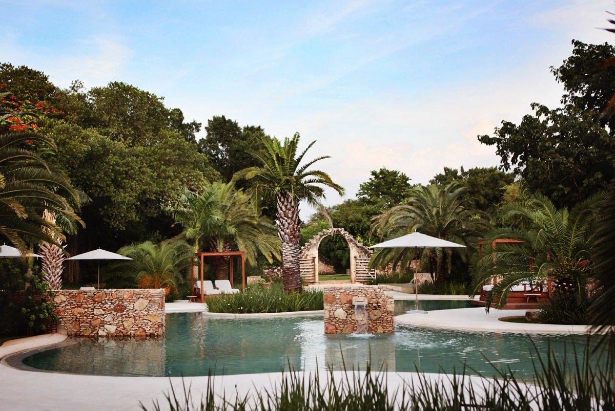 Main Pool at Chable Resort